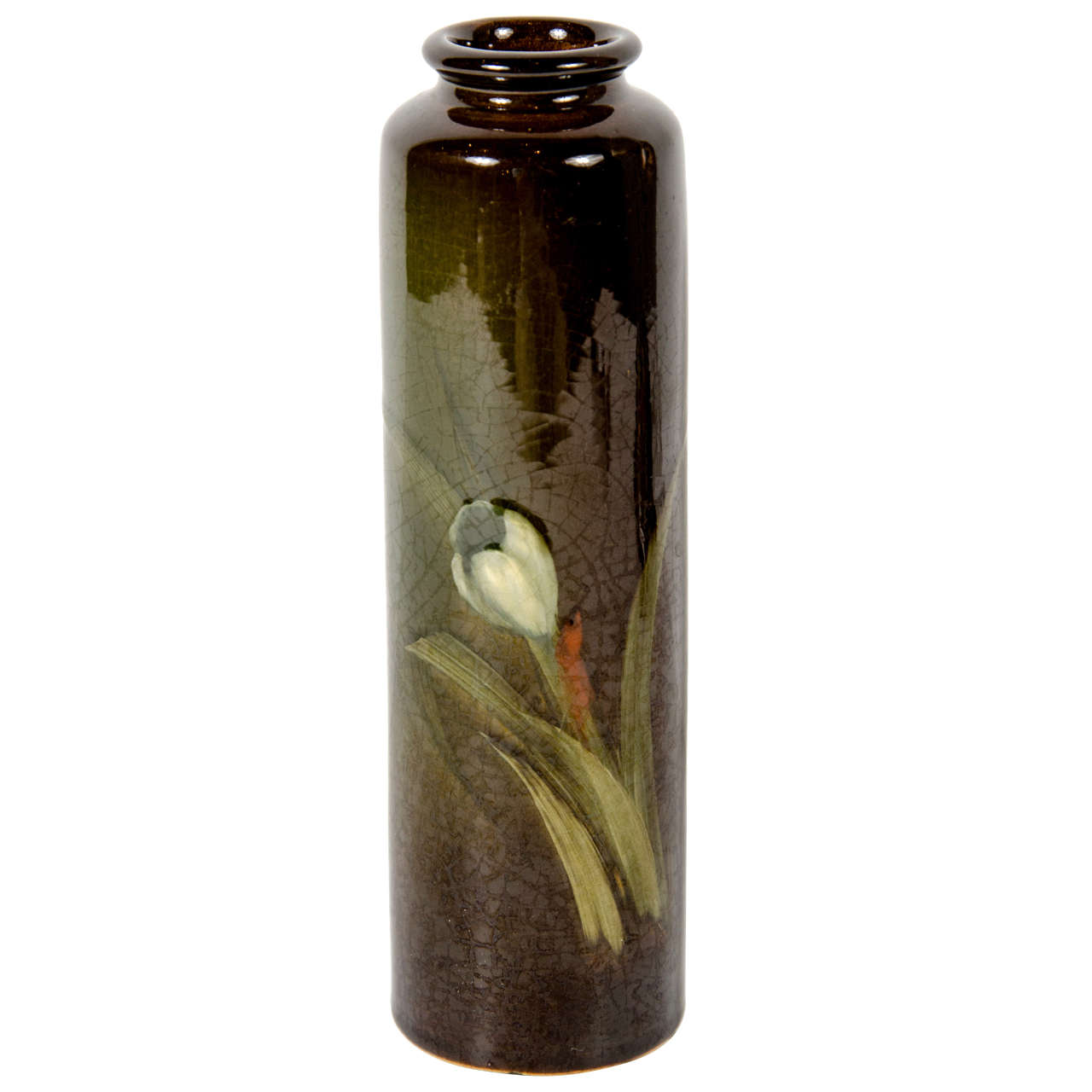 Arts and crafts ceramic vase by rookwood at 1stdibs for Arts and crafts vases pottery