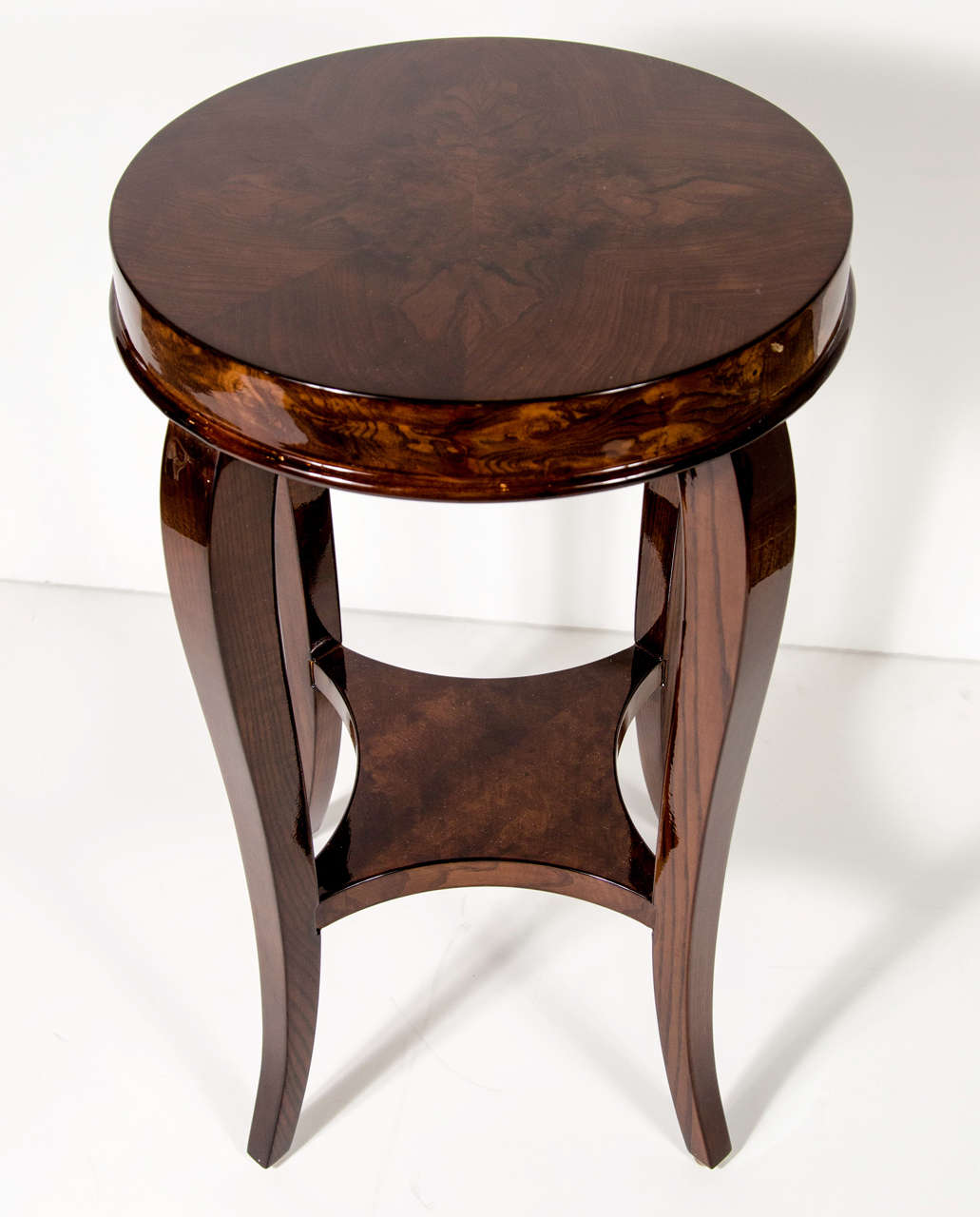 Gorgeous Art Deco Two-Tiered Occasional/End Table 2