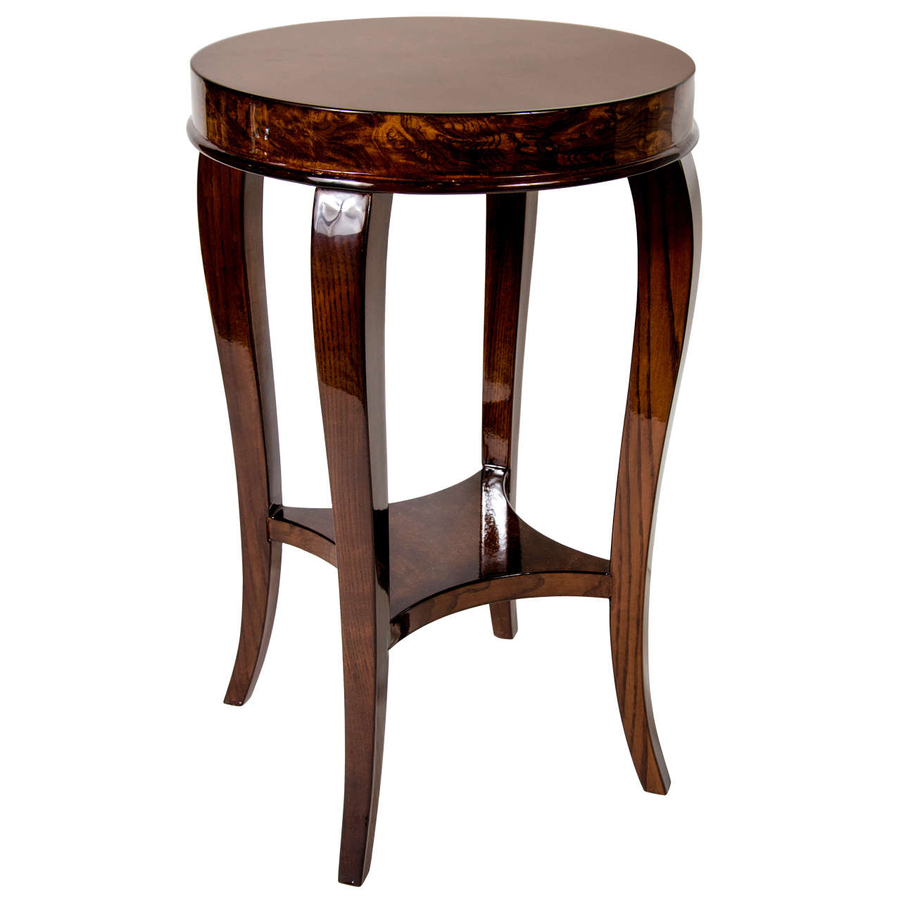 Gorgeous Art Deco Two-Tiered Occasional/End Table 1