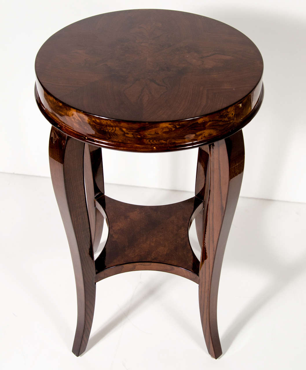 Gorgeous Art Deco Two-Tiered Occasional/End Table 3