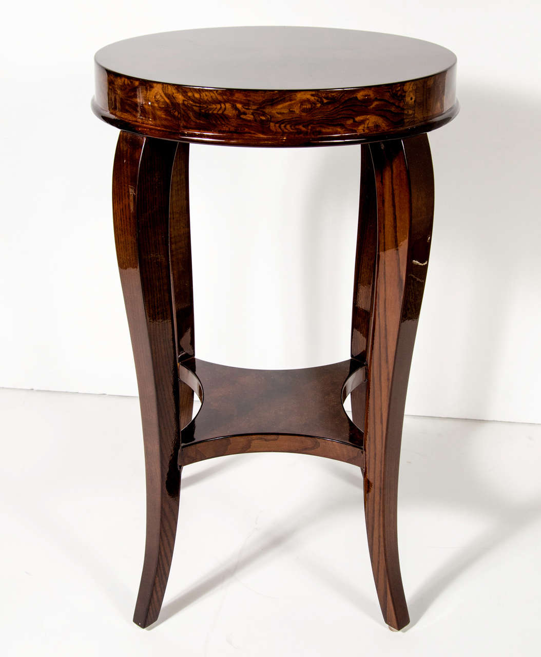 Gorgeous Art Deco Two-Tiered Occasional/End Table 4