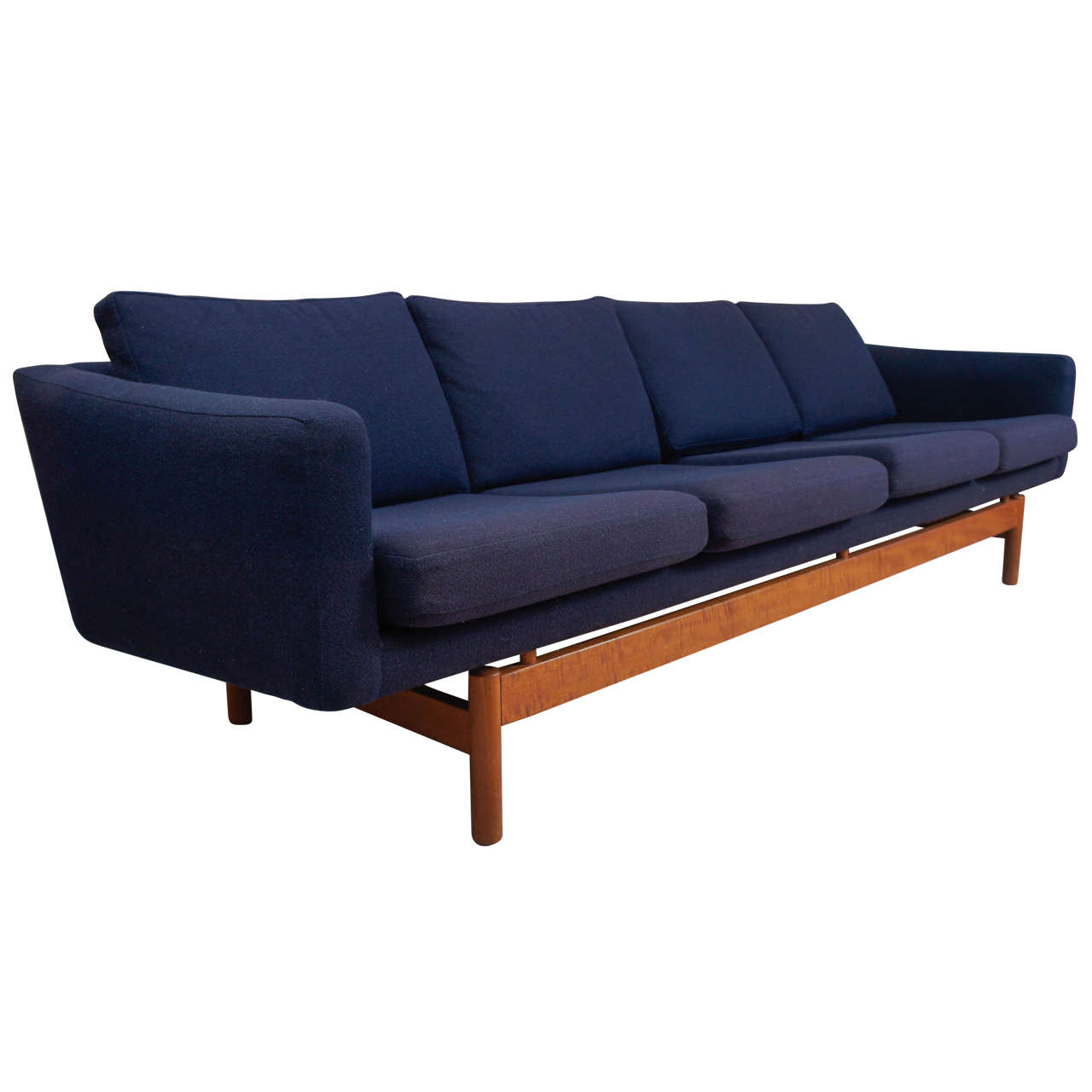 1970s Danish Modern Sofa At 1stdibs