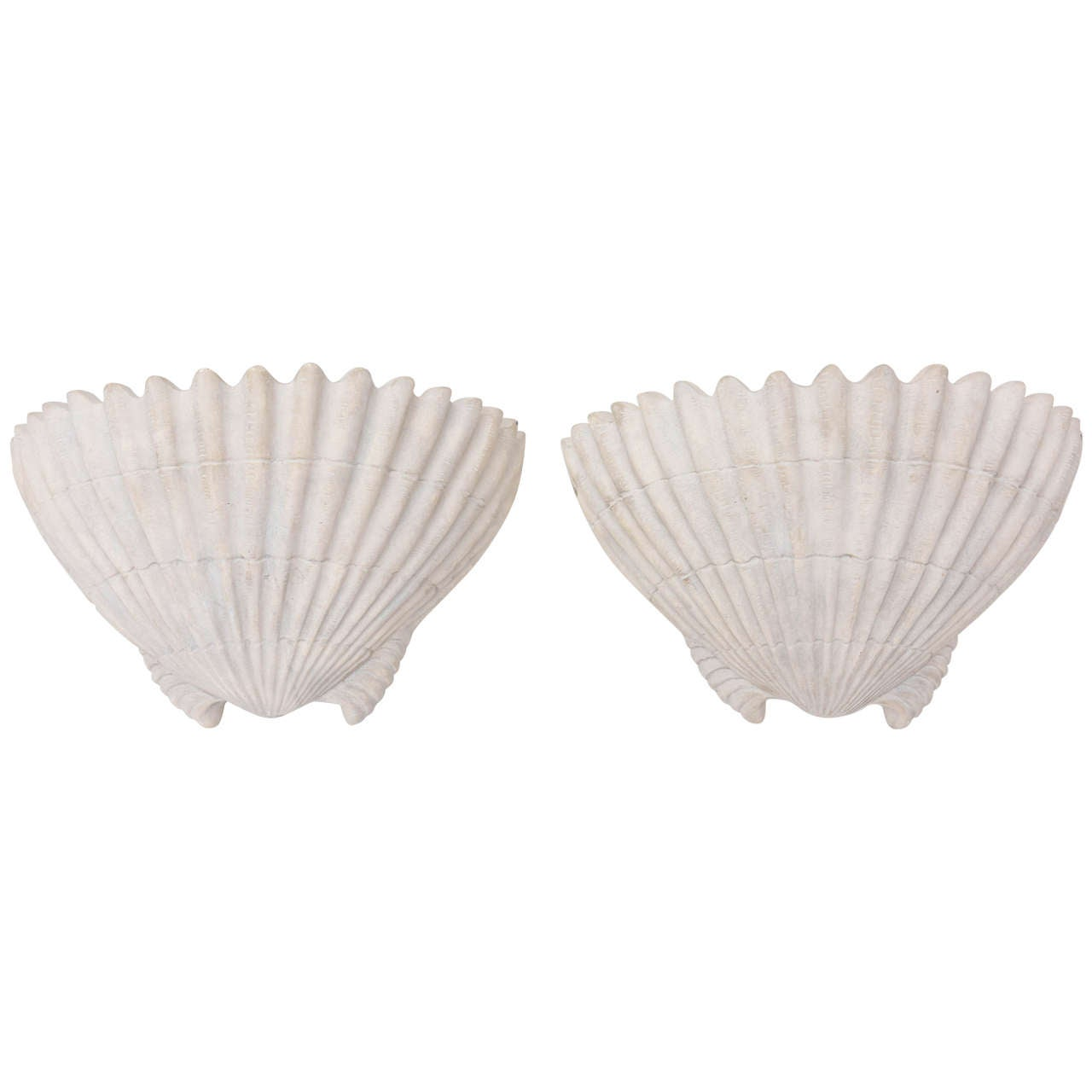 Sirmos Shell Form Sconces For Sale