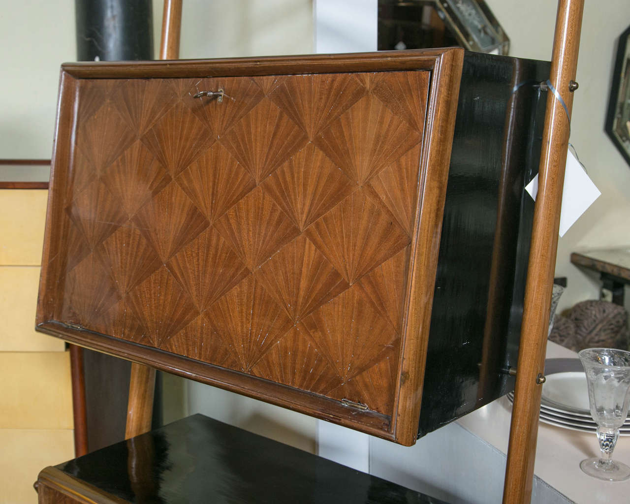 French Art Deco Bar Cabinet For Sale