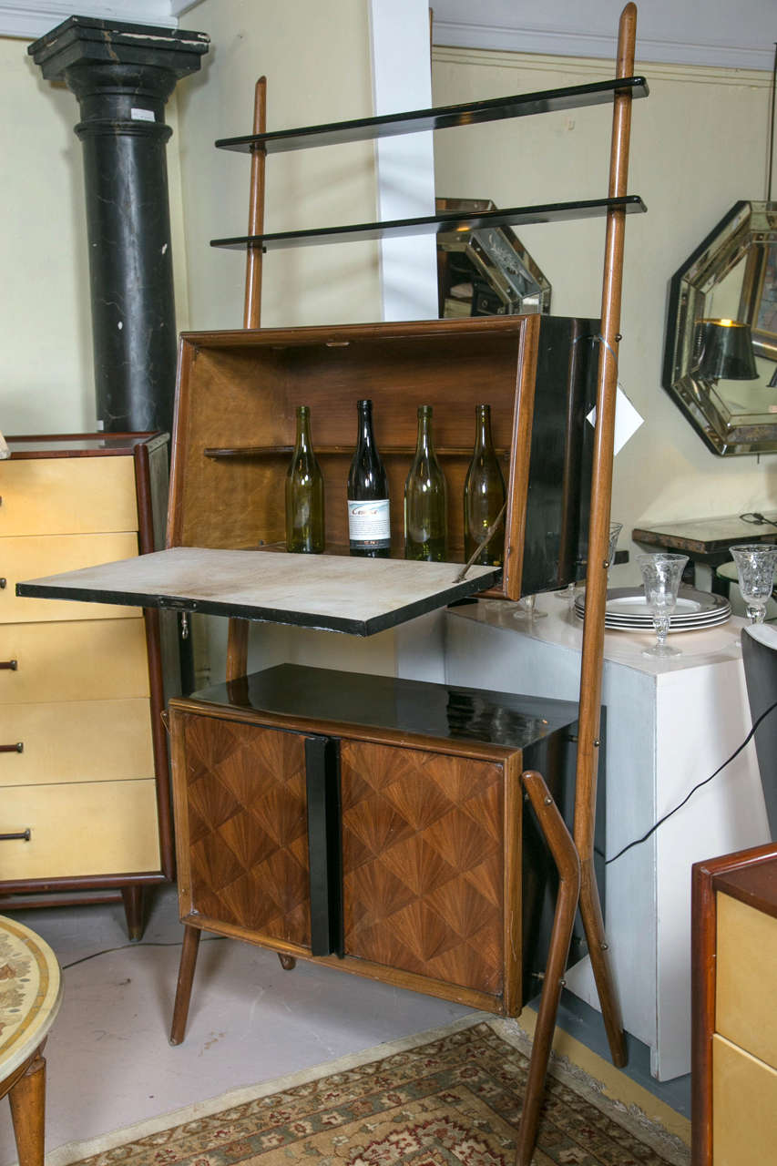 Early 20th Century Art Deco Bar Cabinet For Sale