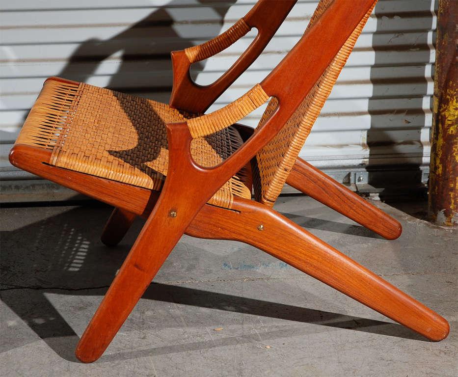 Mid-20th Century Arne Hovmand-Olsen Easy Chairs For Sale