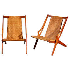 Arne Hovmand-Olsen Easy Chairs