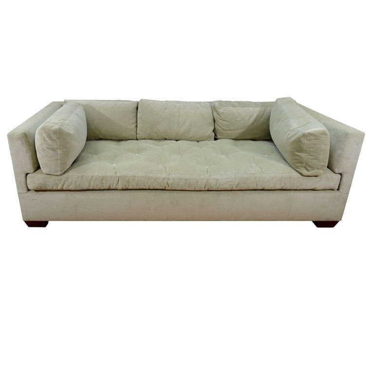 Contemporary Sofa Upholstered in Cowtan and Tout Fabric at ...