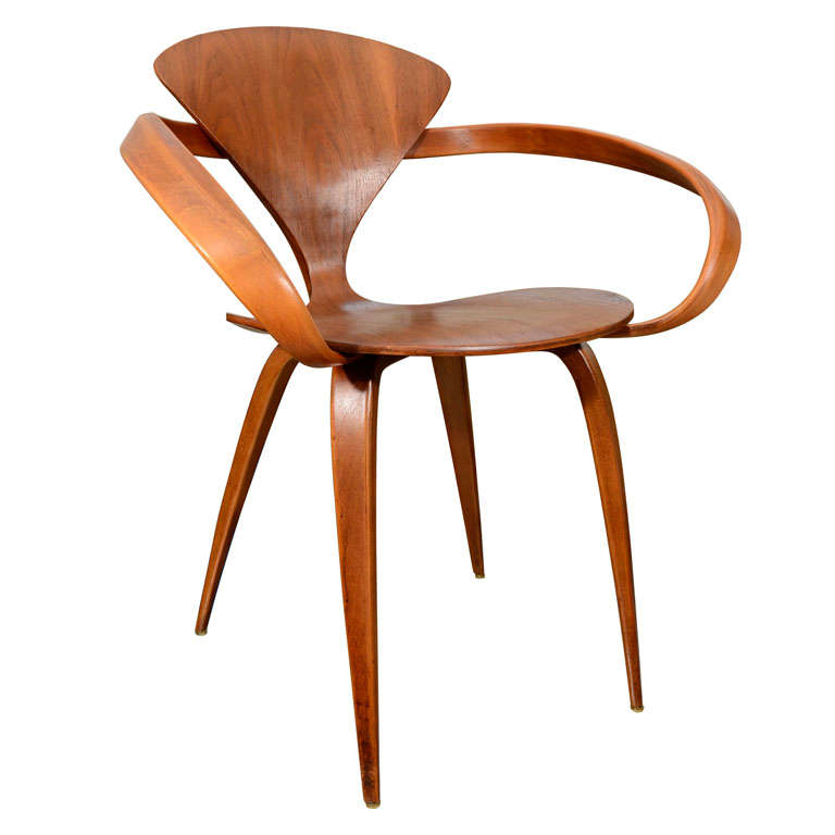 norman cherner chair for plycraft