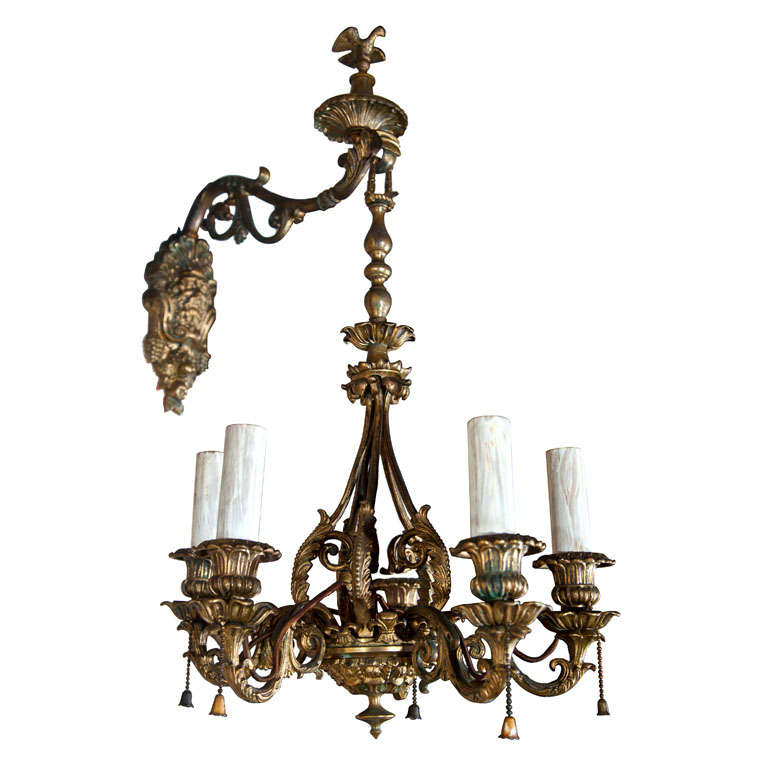 Pair Of Unusual Wall Sconces For Sale
