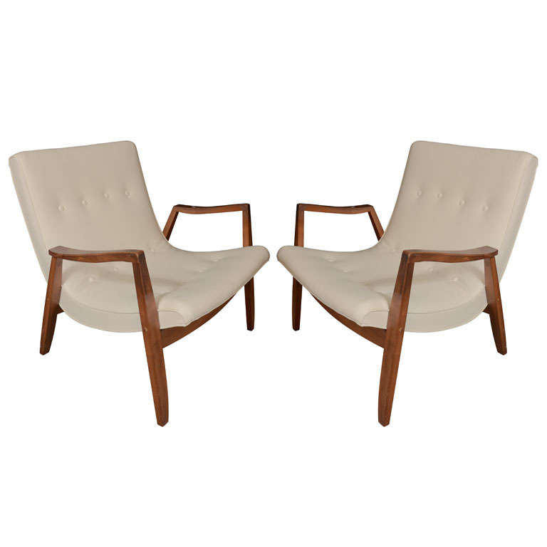 Pair of Baughman Chairs 1