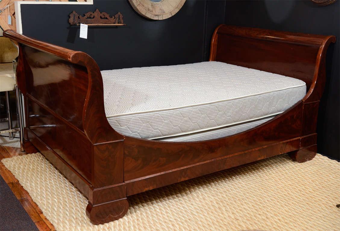 Vintage Sleigh Bed Frame