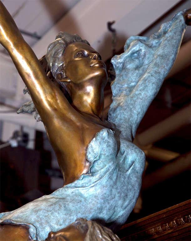 American Life Size Bronze Statue