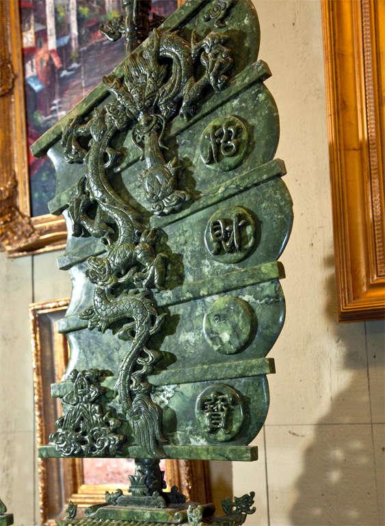 Jade Nine Dragon Boat For Sale At 1stdibs