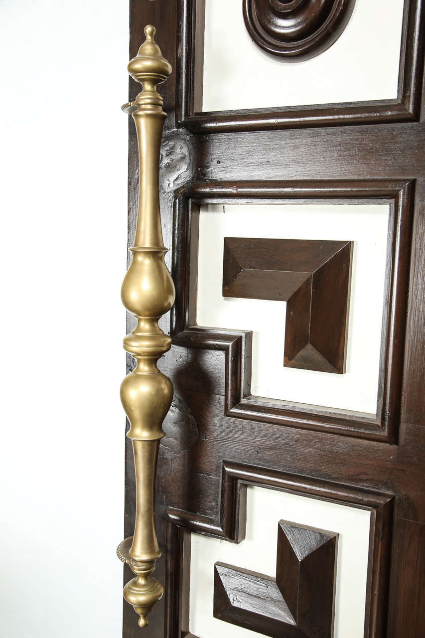 1930s hollywood regency double faced coffered doors at 1stdibs for 1930s front door furniture