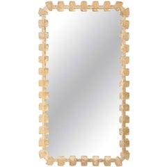 Illuminated Resin Mirror