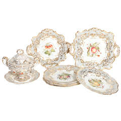 Early 19th Century English Dessert Set