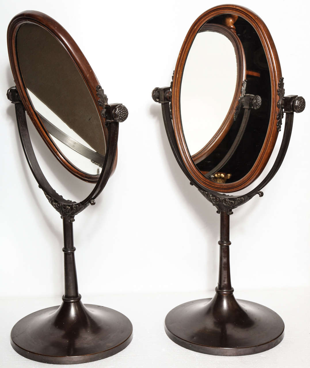 English, Bronze Dressing Table Mirrors For Sale 2