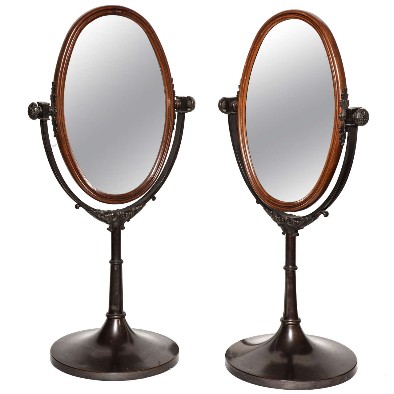 English, Bronze Dressing Table Mirrors