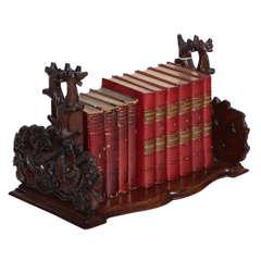 19th Century Continental Bookrack