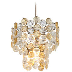 Two-Toned Murano Glass Chandelier
