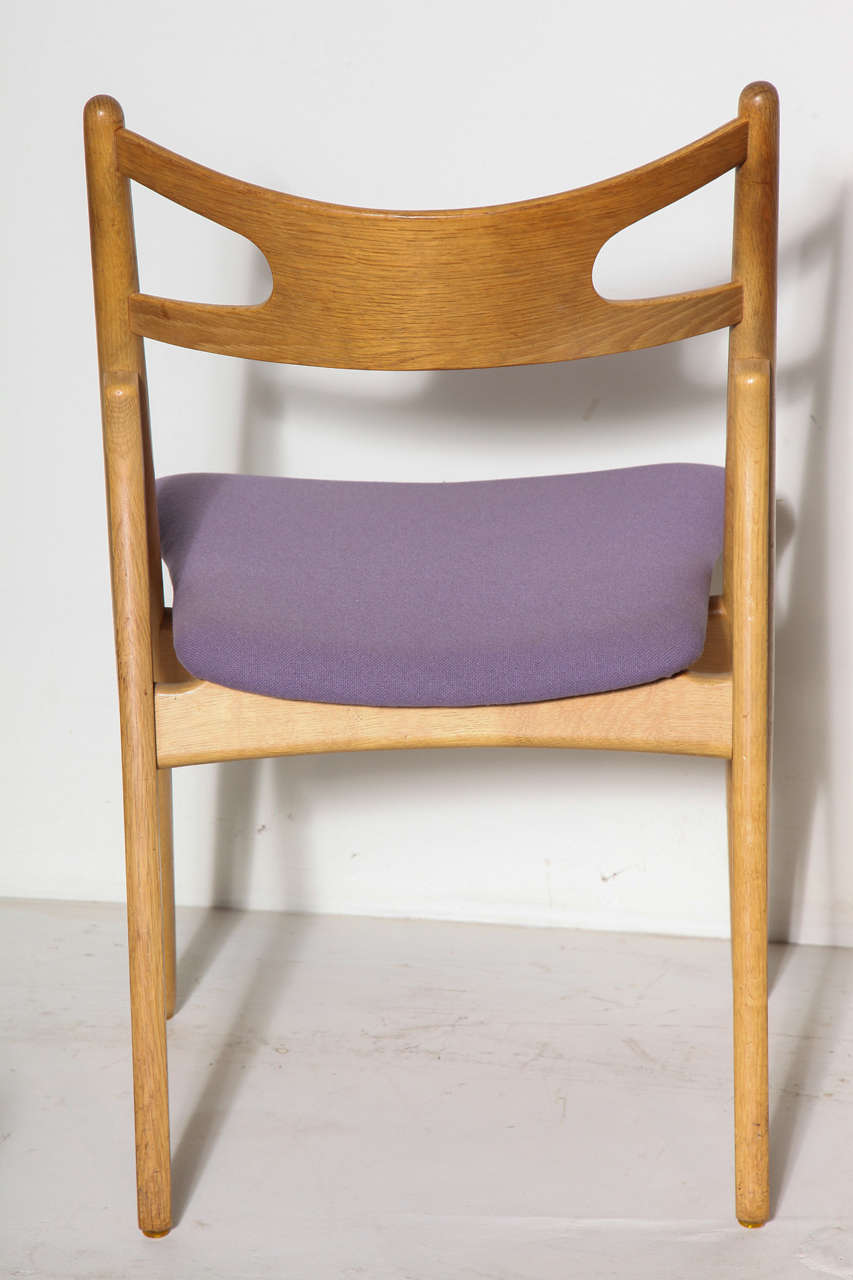Hans Wegner CH29 Sawbuck Dining Chairs, Set of Four 6