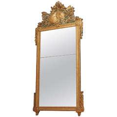 18th Century Gilt Trumeau Mirror