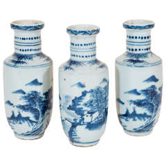 Petite Chinese Porcelain Vases