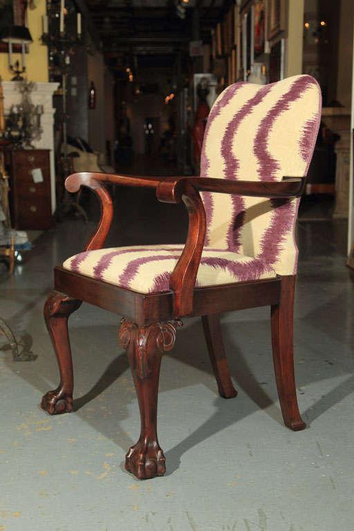 Mahogany George III Style Armchairs For Sale