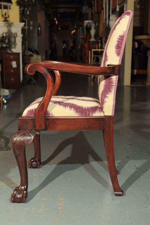 George III Style Armchairs For Sale 1