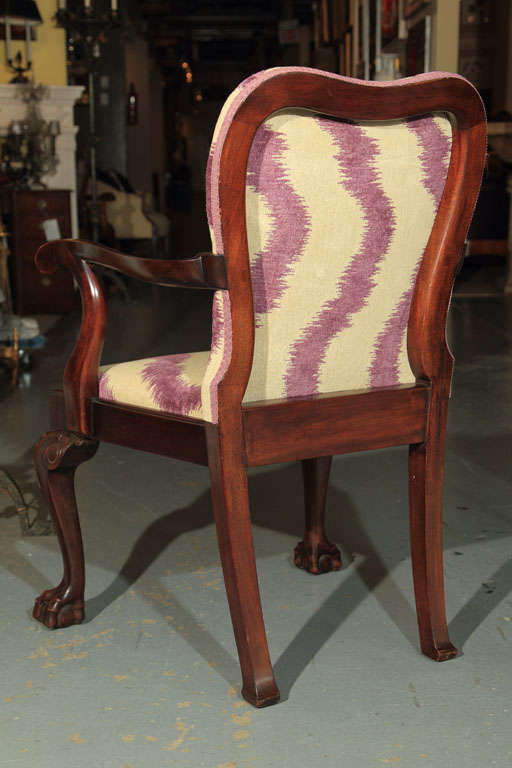 George III Style Armchairs For Sale 2