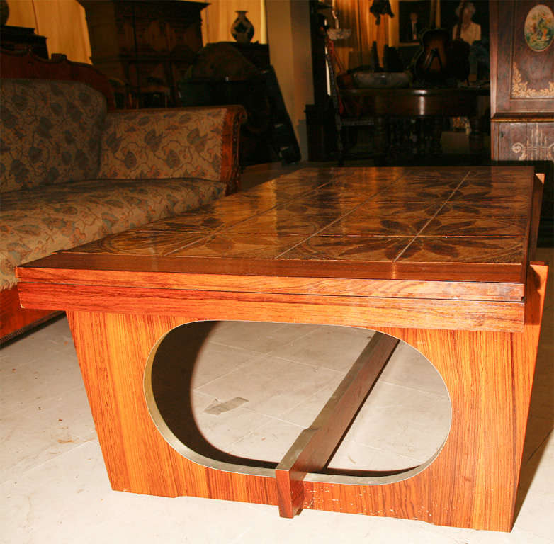 Danish Modern Tile-Topped Coffee Table 7