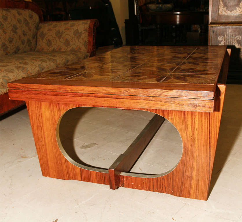 Danish Modern Tile-Topped Coffee Table 9