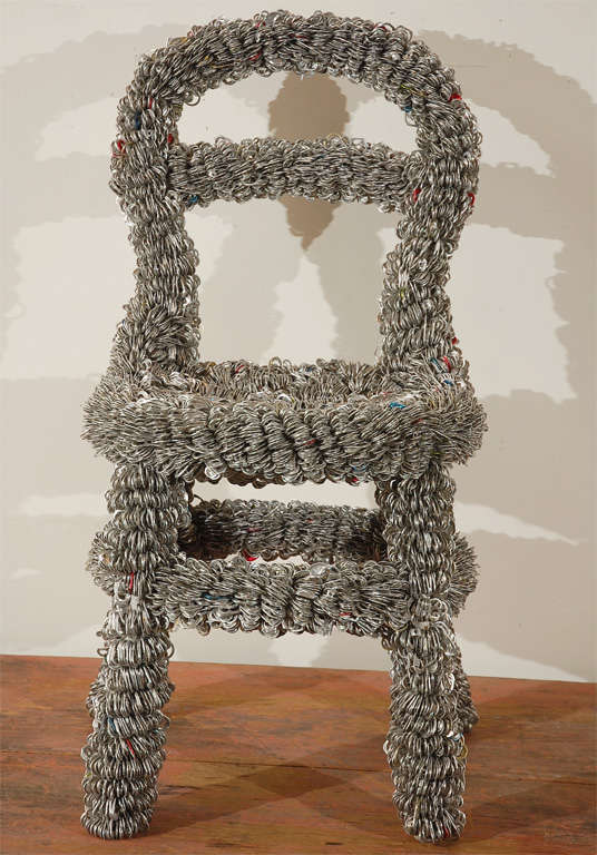American  Pull-top Chair By Artist Clare Graham
