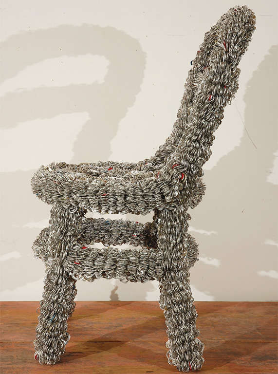 Pull-top Chair By Artist Clare Graham 1