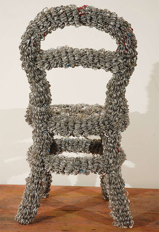Pull-top Chair By Artist Clare Graham 3
