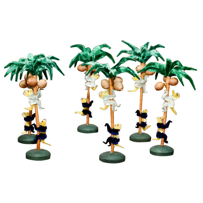 Palm tree table decorations at 1stdibs for Palm tree decorations for the home