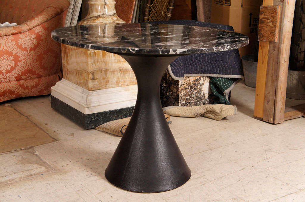 A Vintage 60's Marble Topped Table image 2