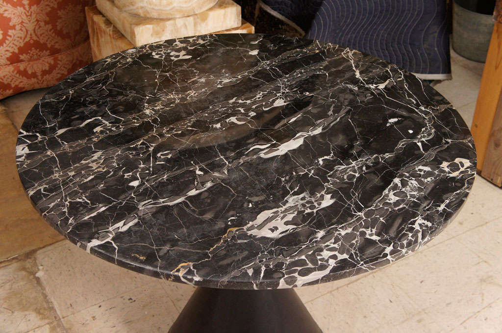 A Vintage 60's Marble Topped Table image 4