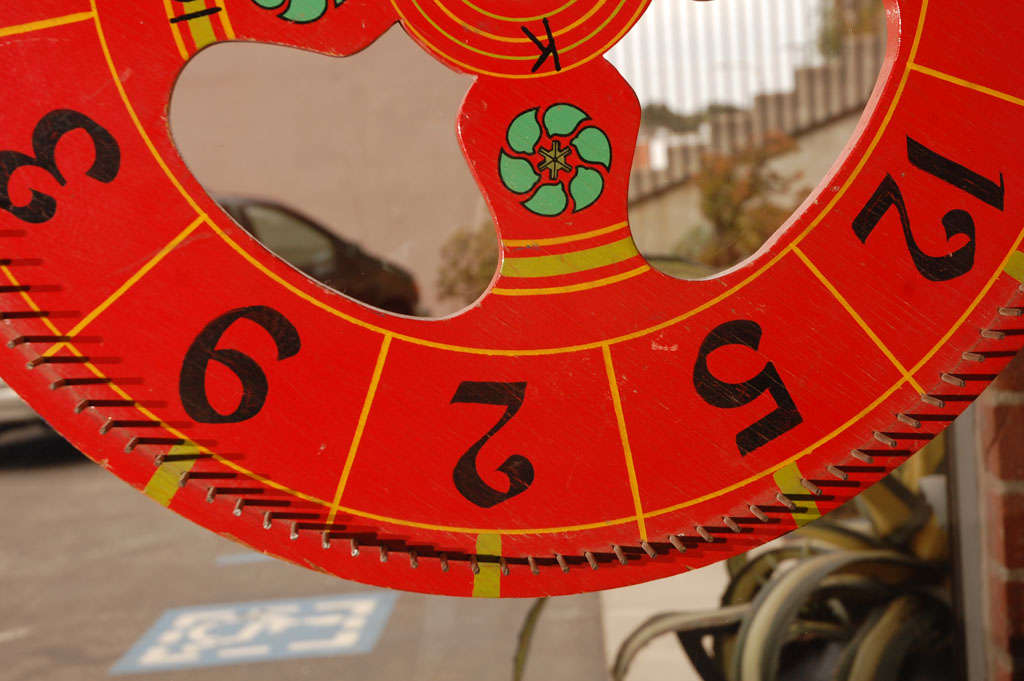 Vintage Gambling Wheel 4