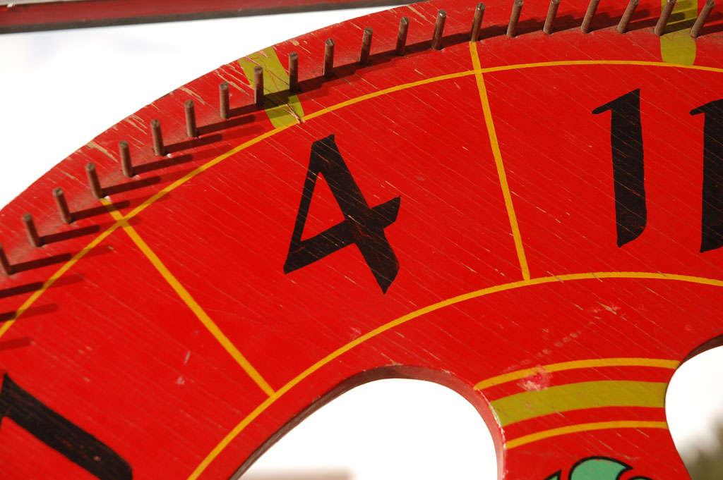 Vintage Gambling Wheel 6