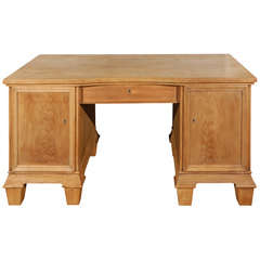 Vintage Two Pedestal Desk