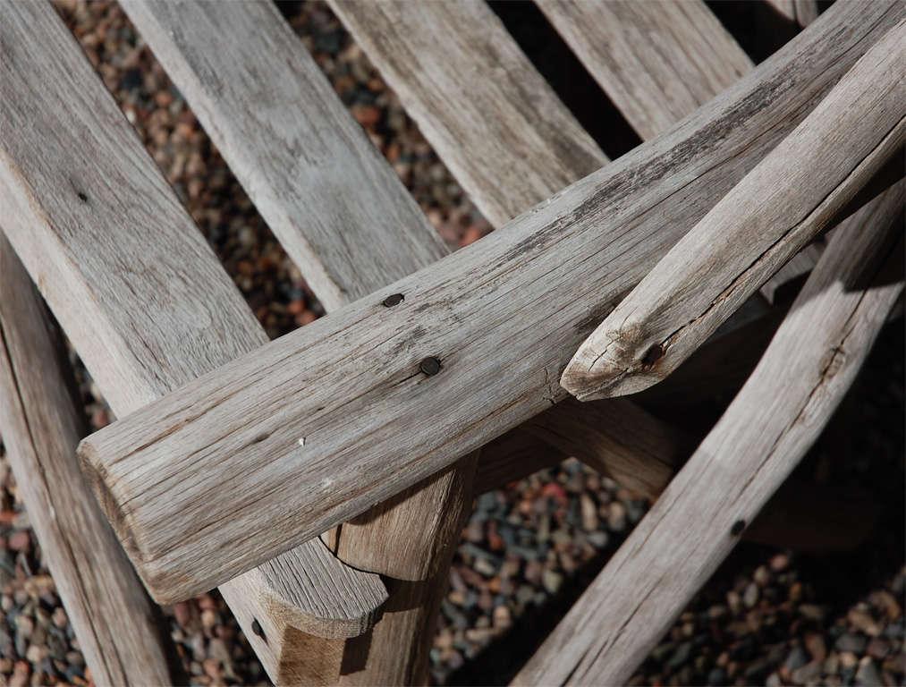 English Tree Limb Bench, Circa 1890 6