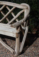 English Tree Limb Bench, Circa 1890 image 7