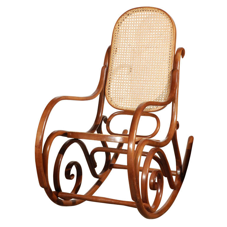 thonet bentwood rocking chair. Black Bedroom Furniture Sets. Home Design Ideas