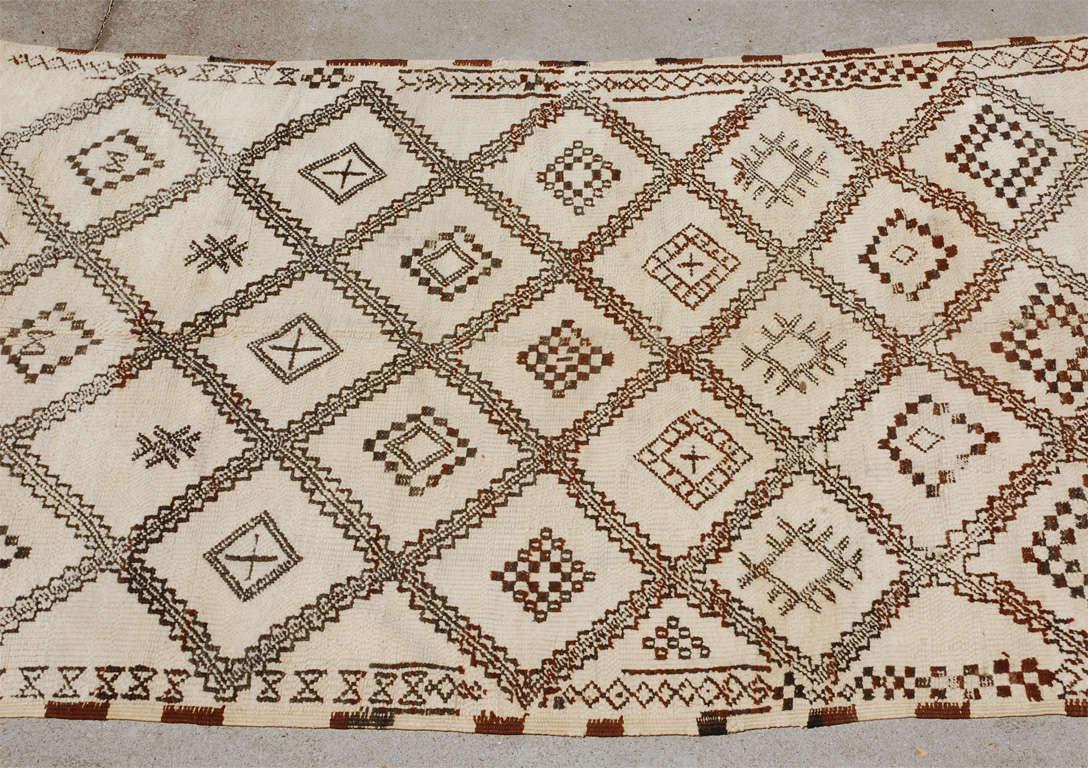 A Vintage Moroccan Tribal Rug image 2
