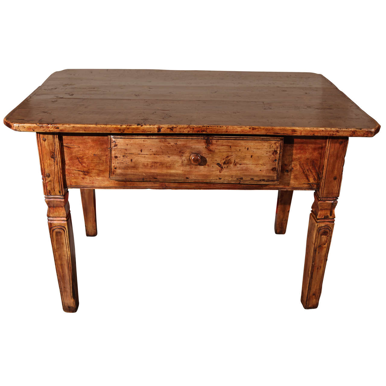 18th c italian center table at 1stdibs for Furniture centre table