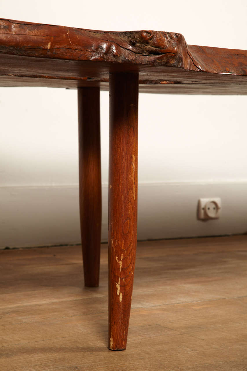 A Magnificent Coffee Table In The Taste Of George Nakashima image 6