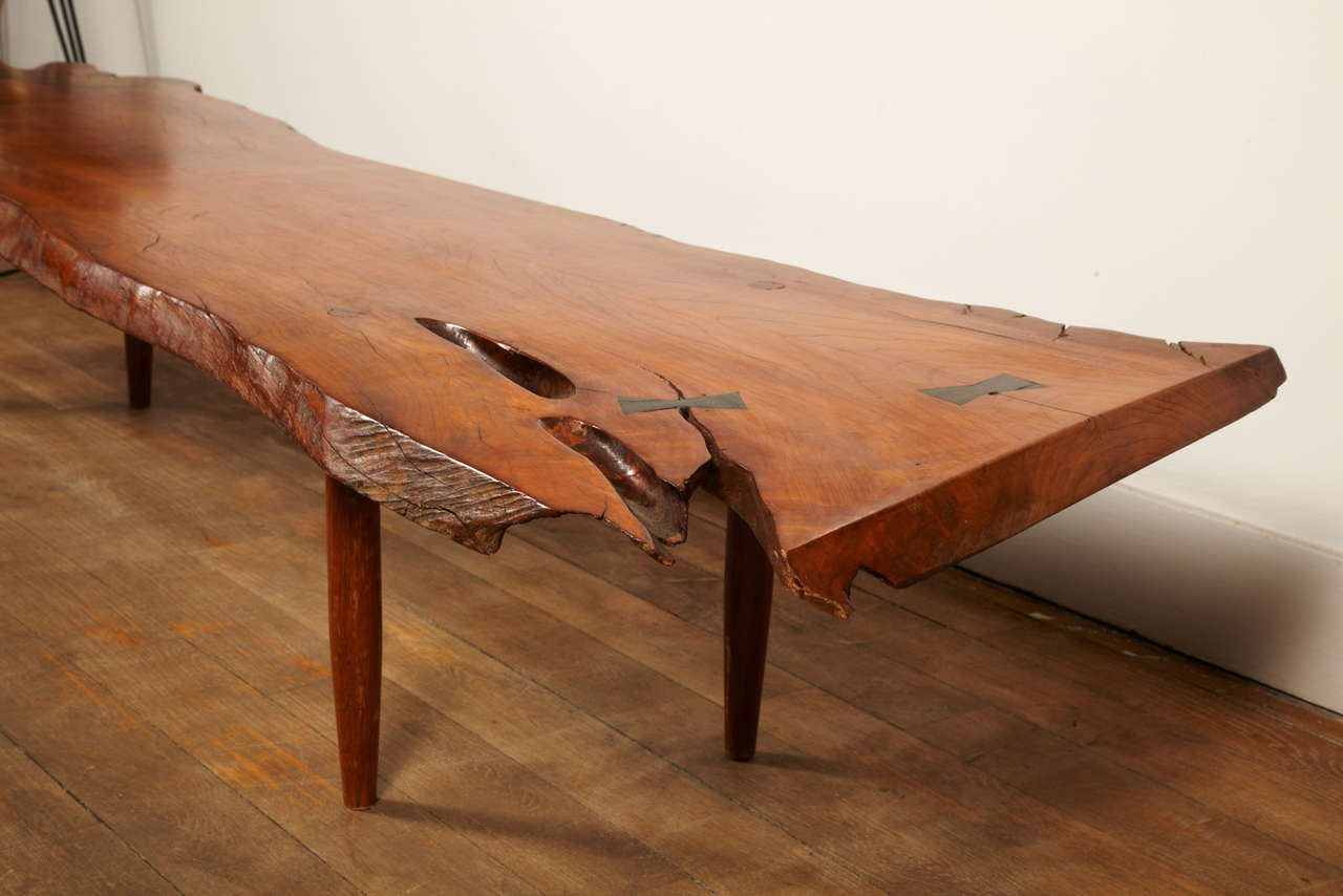 A Magnificent Coffee Table In The Taste Of George Nakashima image 9