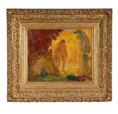 """Paradise Garden"" Painting by Lefebre"